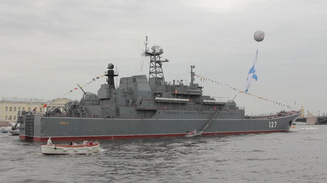 В параде на День военно-морского флота в Петербурге примут участие 41 корабль