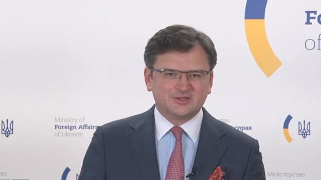 Глава МИД Украины Кулеба назвал условие для открытия огня на Донбассе