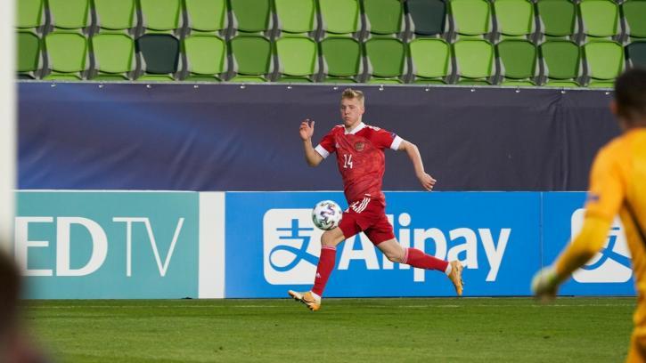 Маслов покинул расположение молодежной сборной России