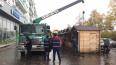 На проспекте Большевиков демонтировали незаконные ...