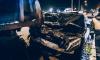 Maybach влетел в грузовик на Северном проспекте в Петербурге