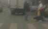 На проспекте Луначарского водитель сбил женщину на пешеходном переходе