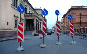 Съемки кино затруднят движение транспорта в центре Петербурга
