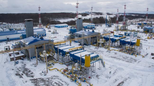 """""""Газпром"""" за 3,5 месяца на 28% увеличил поставки в страны дальнего зарубежья"""
