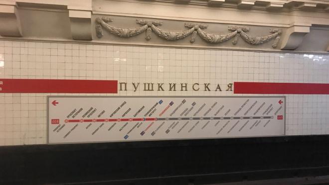 """""""Пушкинскую"""" закрывали на 40 минут из-за бесхозного предмета"""