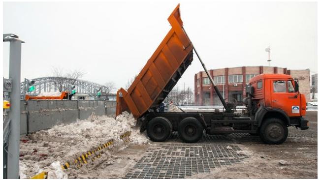 """""""Водоканал Санкт-Петербурга"""" утилизовал более 29 тыс. кубометров снега"""