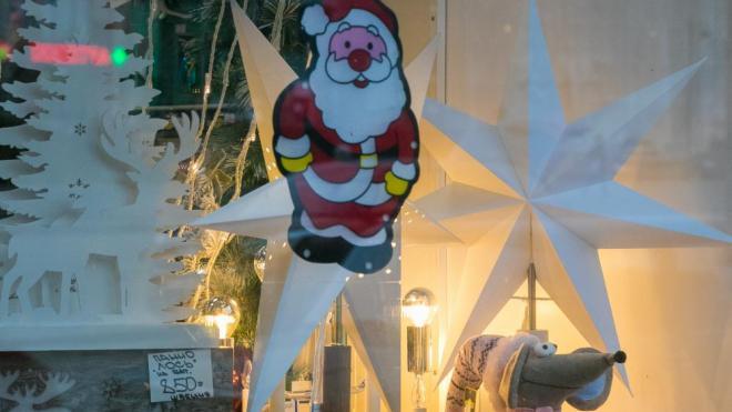 Выборгские предприниматели участвуют в конкурсе на лучшее новогоднее оформление
