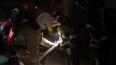 Ночью в Шушарах воспламенился трактор-экскаватор