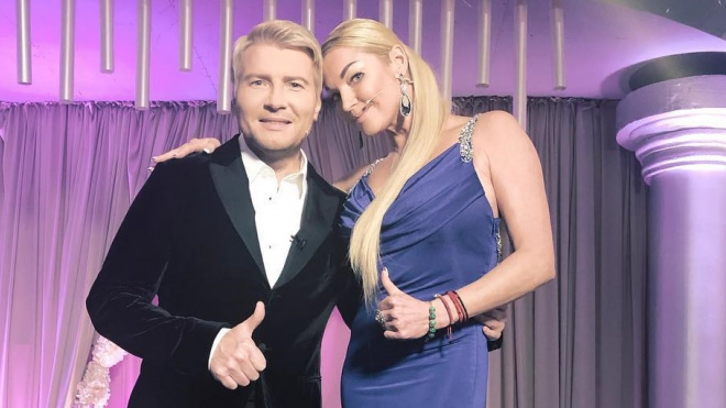 Волочкова объявила о свадьбе с Николаем Басковым