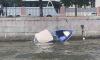 Маломерное судно затонуло после столкновения с пассажирским теплоходом на Фонтанке