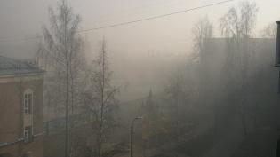 Военные учения с использованием дымовых средствнапугали жителей Кронштадта