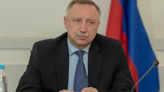 Бегловвнесвторую поправку к проекту закона обюджете Петербурга