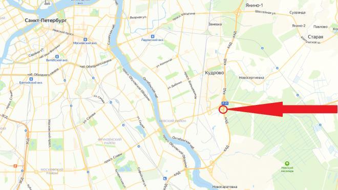 На КАД у развязки с Мурманским шоссе перекроют две полосы движения