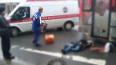 В Выборгском районе маршрутка насмерть сбила пешехода