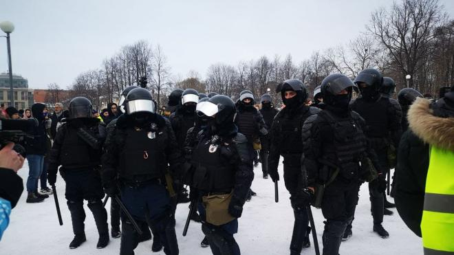 Суд арестовал еще одного участника митинга 31 января