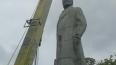 Последний памятник Ленину в Одессе дал отпор врагу