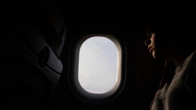 Уснувшую канадку забыли в самолете