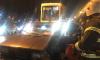 Трамваи встали в пробку из-за ДТП на проспекте Науки