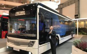 В Петербурге протестируют электробус из Португалии
