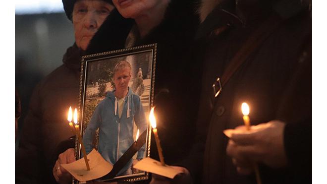 В Измайловской соборе почтили память героя-летчика Романа Филипова