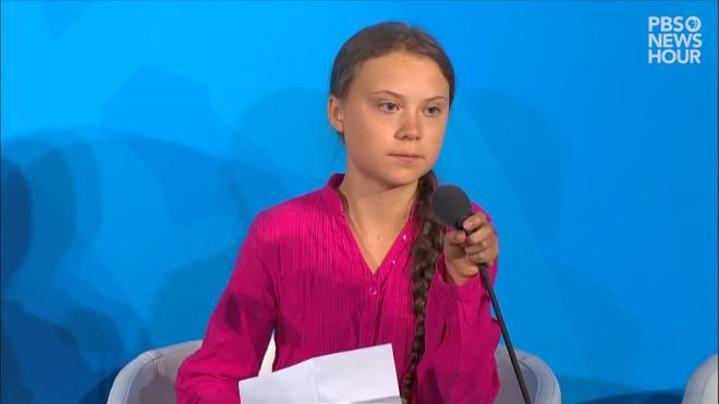 Экоактивистка из Швеции Грета Тунберг призвала американцев голосовать за Байдена