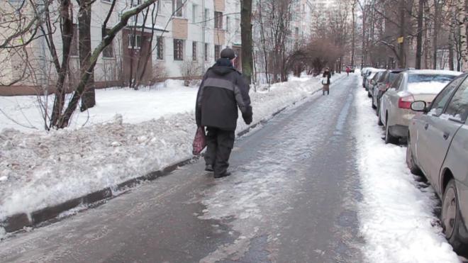 Вторник в Петербурге выдастся скользким и ветренным