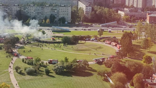 """В Петербурге выбрали """"Сильнейших пожарных"""""""