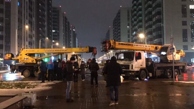 Жители Мурино выступают против молла Гудченко на бульваре Менделеева