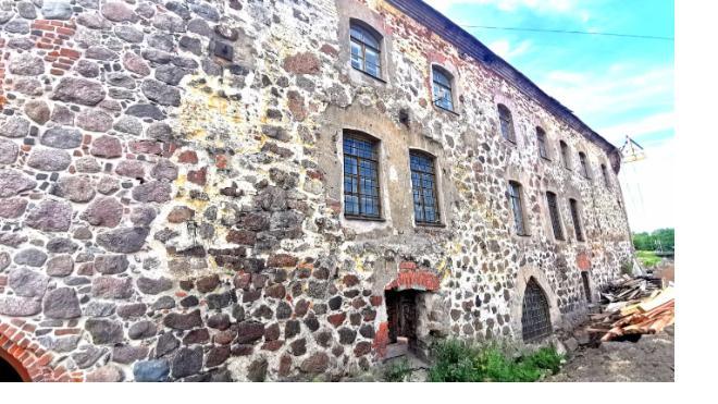 В Выборгском замке готовятся реставрировать здание бывшей тюрьмы