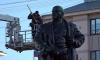 Специалисты устроили водные процедуры памятнику Ленина в Выборге