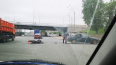 На проспекте Обуховской Обороны мотоциклист врезался ...