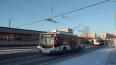 Троллейбусное движение на Московском проспекте берет ...