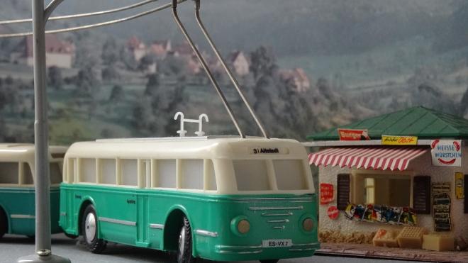 В ближайшие выходные троллейбус №14 будет ходить по другому маршруту