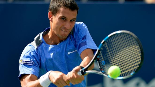 Российский теннисист Евгений Донской проиграл на старте турнира St. Petersburg Open