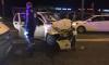 На проспекте Ветеранов в результате аварии пострадал маленький ребенок