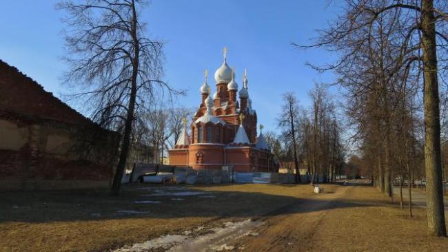 Реставрация церкви мученика Иулиана будет продолжена в Пушкине
