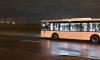 На Малой Балканской водитель сломал стекло автобуса: осколки рассыпались по дороге