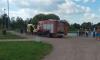 К озеру в Полюстровском парке приехала поисково-спасательная служба и реанимация