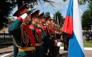 В Выборге открыли мемориал сотрудникам МВД, участвовавшим в Великой Отечественной войне