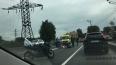 Мотоциклисты разбились в  ДТП на Витебском проспекте