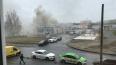 Пожарные потушили огонь в вентиляционной трубе автосервиса ...