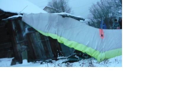 В Свердловской области разбился мотодельтаплан, пилот погиб