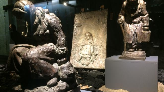 В Петербурге можно увидеть малоизвестные скульптуры о войне и мире
