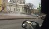У Троицкого собора прорвало трубу с горячей водой: движение перекрыто