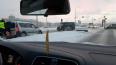 На Арсенальной набережной автомобиль снес светофор