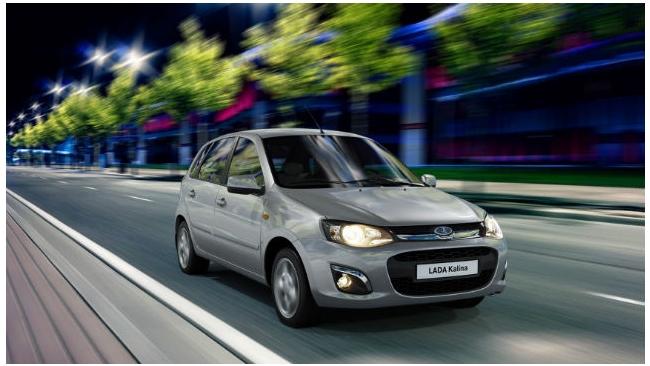 """""""АвтоВАЗ"""" назвал цену на модель Lada Kalina с """"роботом"""""""