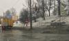 В Петербурге затопило Набережную Обводного канала