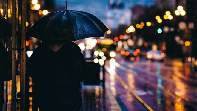 Петербуржцы готовятся к очередным дождям и грозам в воскресенье