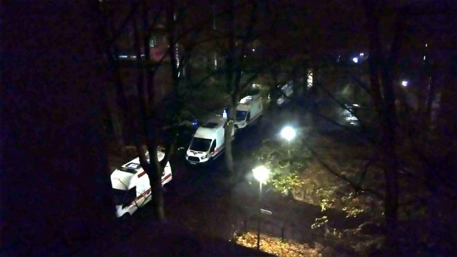 У больницы Мечникова заметили очередь из скорых и реанимаций
