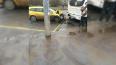 """Таксист """"догнал"""" автобус на пересечении Купчинской ..."""